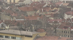 Vilnius. View from Mount of Three Crosses, 10 Stock Footage