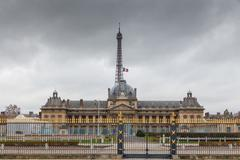 Paris. Military school. Stock Photos