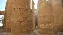 Karnak Temple - Luxor - Egypt Stock Footage