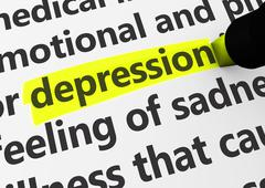 Depression Stock Illustration