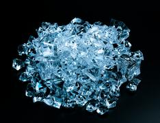 Precious diamond crystals Stock Photos