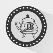Stock Illustration of sugar container design, vector illustration eps10 graphic