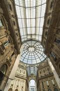 Galleria Vittorio Emanuele, Milan, Italy - stock photo