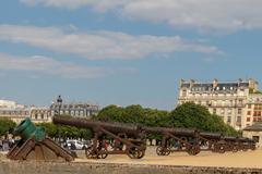 Army Museum at Les Invalides. Paris. Stock Photos