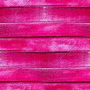 seamless texture of wood planks in pink paint background - stock illustration