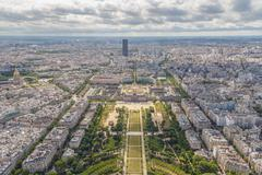 Paris. Champ de Mars - stock photo