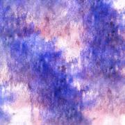 Art purple watercolor ink paint blob watercolour Stock Illustration