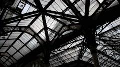 London Liverpool Street Mainline Railway Station 18 Stock Footage