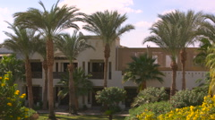 Beautiful rustic Villa in Moroccan style Stock Footage