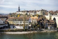 Bern Cityscape - stock photo