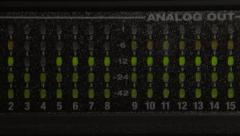 Digital Audio Meter MOTU Stock Footage