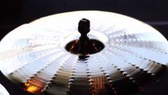 Cymbal Crash SloMo Stock Footage