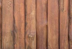 Wooden planks wall for background - stock photo