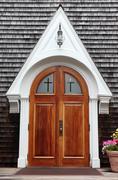 Church door. Stock Photos
