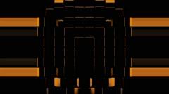 Orange Domino Strobe Background Vj Loop - stock footage