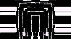 Destroyed Domino Strobe Background Vj Loop - stock footage