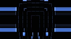 Blue Domino Strobe Background Vj Loop Stock Footage