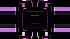 Purple Domino Strobes Background Vj Loop - stock footage