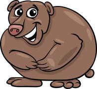 Stock Illustration of bear animal cartoon illustration