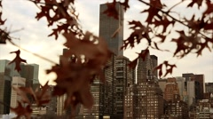 Stock Video Footage of new york city. skyline metropolis. cityscape background