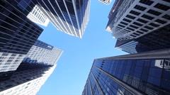 new york city. traffic transportation. skyline metropolis. cityscape background - stock footage