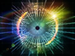 Eye Particle Stock Illustration