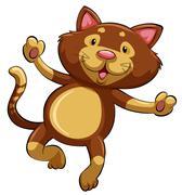 Stock Illustration of A kitten