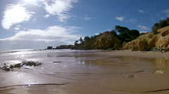 Algarve - St Eulalia Beach Pan Timelapse C Stock Footage