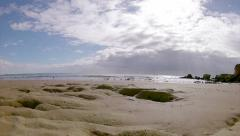 Algarve - St Eulalia Beach Pan Timelapse B Stock Footage