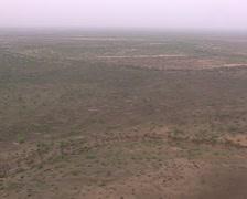 Aerial image of Savannah - stock footage