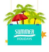 Stock Illustration of Summer holiday