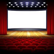 cinema - stock illustration