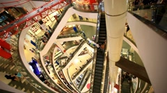 BANGKOK 3 august 2014,  People shop at Central World. HD. 1920x1080 Stock Footage