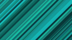 Animated Background Loop With Turquoise Diagonal Lines Stock Footage