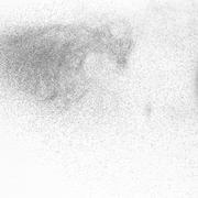 Abstract paint splatter - stock photo