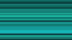Turquoise Blue Stripe Horizontal Bars Animated Motion Background Stock Footage