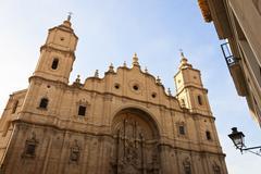 Stock Photo of Santa María la Mayor Church in Alcañiz