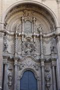 Stock Photo of Santa María la Mayor Church facade in Alcañiz