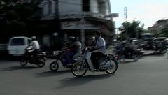 Phnom penh city. Stock Footage
