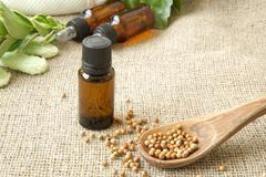 White pepper oil Stock Photos