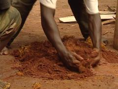 Bantu culture, distillery homemade. Stock Footage