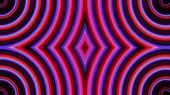Strange purple radio waves Stock Footage