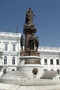 Statue of Empress Catherine the Great in Odessa Kuvituskuvat