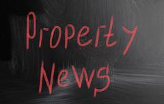 property news - stock photo