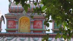 Gates at Jyotirmath in Uttarakhand, India Stock Footage