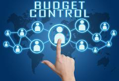 Budget Control - stock illustration