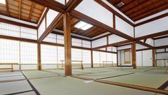 Tenryuji temple Daihoujyo Arasiyama Kyoto Japan Stock Photos