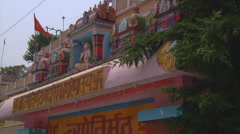Jyotir Math monastery at Jyotirmath in Uttarakhand, India Stock Footage