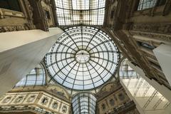 Galleria Vittorio Emanuele in Milan, Italy - stock photo