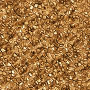 Seamless gold mineral background Stock Illustration